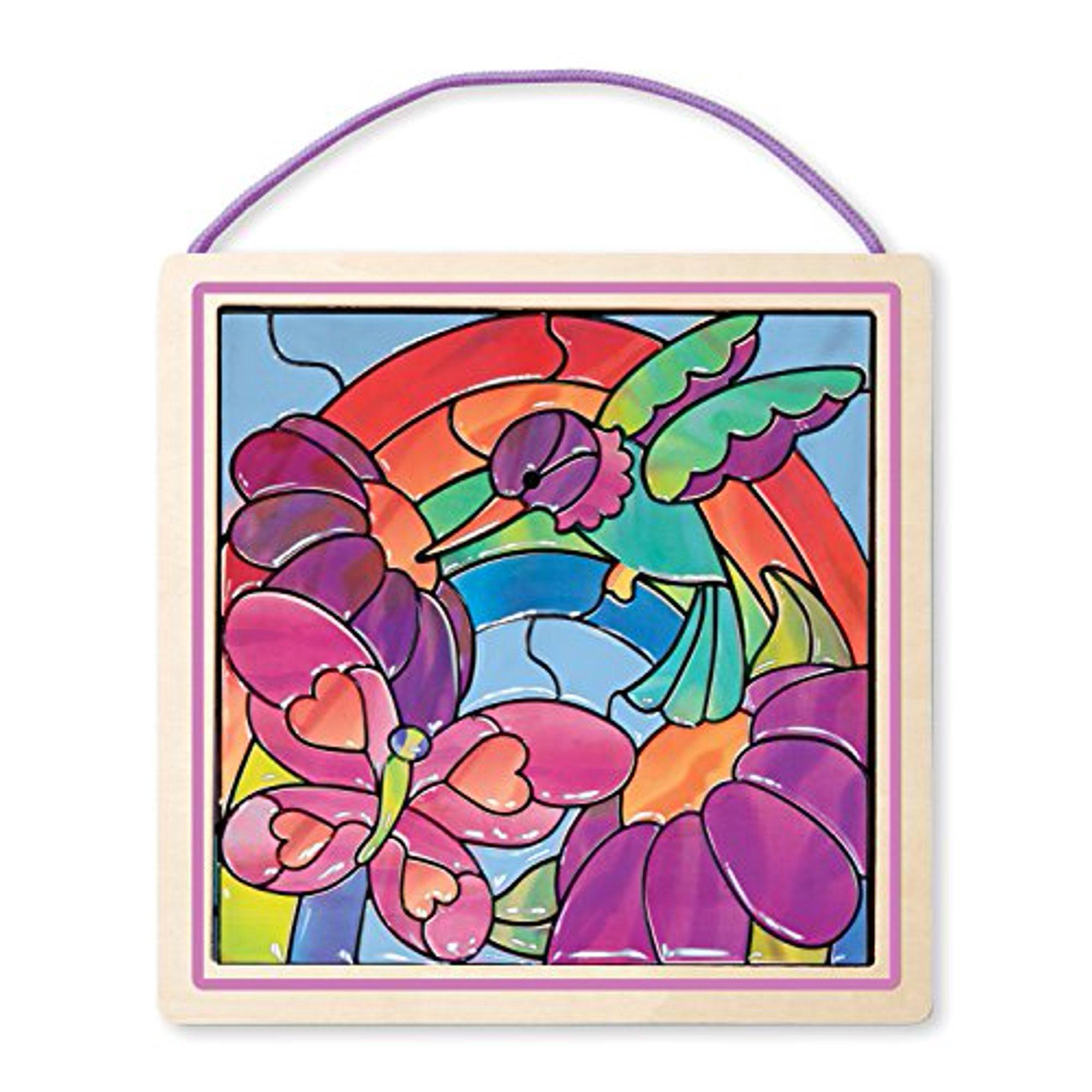 Melissa & Doug 14264, Glasschilderen Regenboog