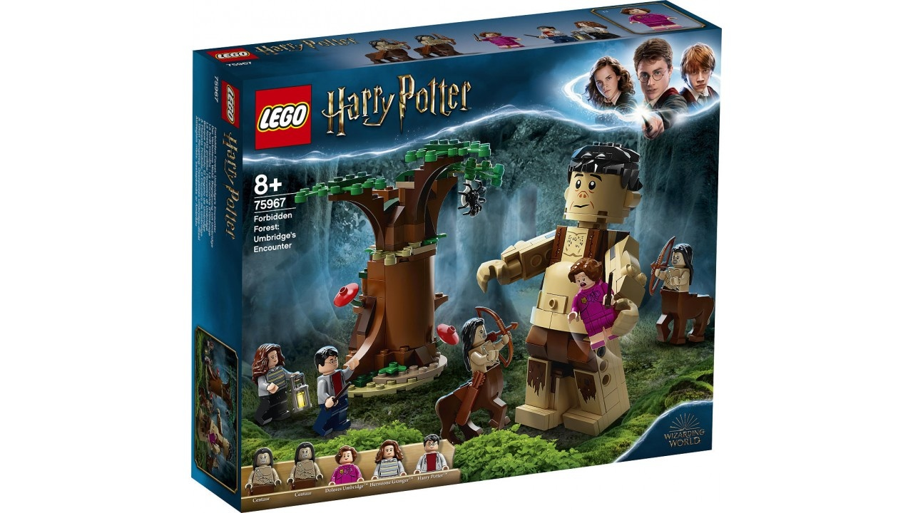 Lego LEGO Harry Potter Het Verboden Bos Omber AND apos;s ontmoeting met Gr