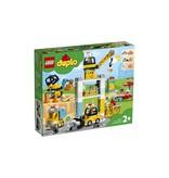 Lego DUPLO Torenkraan en Bouwterrein