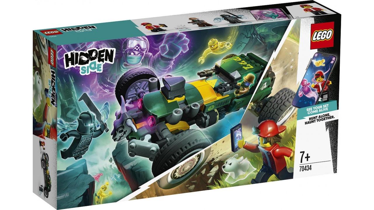 Lego LEGO Hidden Side Bovennatuurlijke racewagen