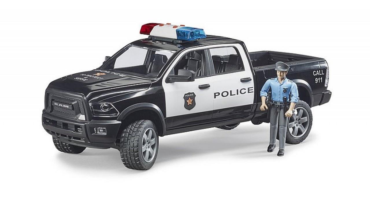 Bruder Bruder RAM 2500 Politiewagen met agent