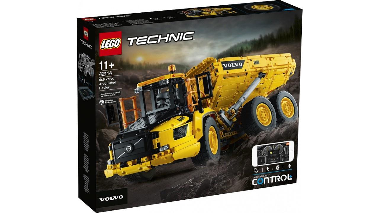 Lego LEGO Technic Volvo 6x6 Truck met kieptrailer
