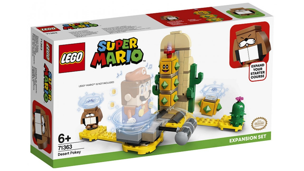 Lego LEGO Super Mario Uitbreidingsset: Desert Pokey
