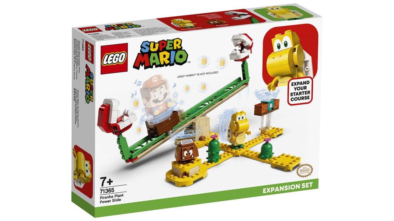 Lego LEGO Super Mario Uitbreidingsset: Piranha Plant-powerslide
