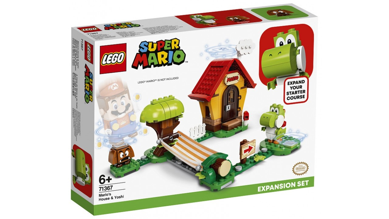 Lego LEGO Super Mario Uitbreidingsset: Mario AND apos;s huis  AND  Yoshi