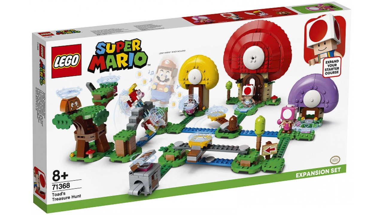 Lego LEGO Super Mario Uitbreidingsset: Toads schattenjacht