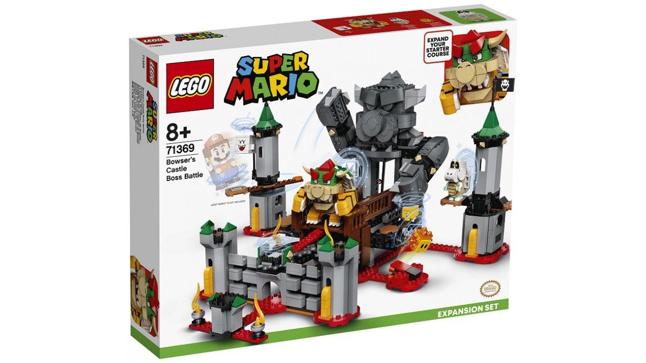 Lego LEGO Super Mario Uitbreidingsset: Eindbaasgevecht op Bowsers