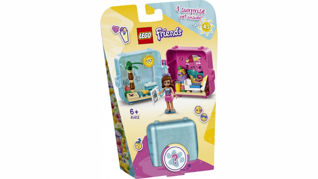 Lego LEGO Friends Olivia AND apos;s zomerspeelkubus