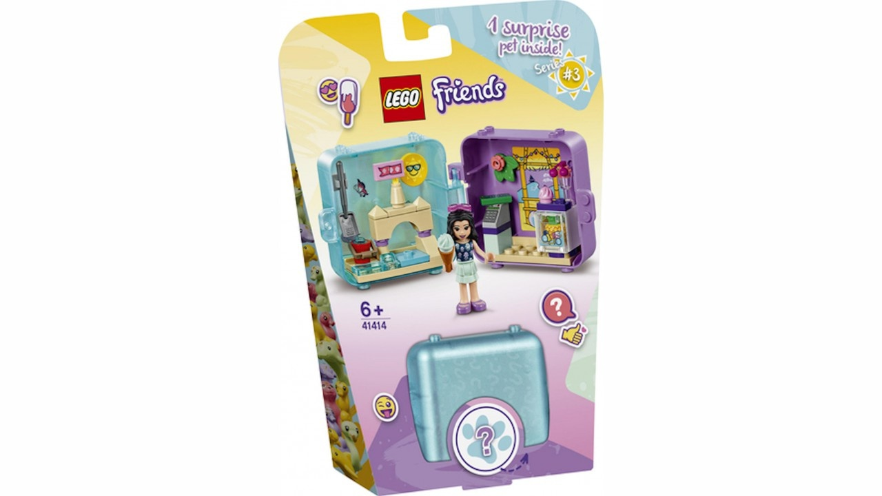 Lego LEGO Friends Emma AND apos;s zomerspeelkubus