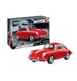 Revell Porsche 356 B Coupe easy click systeem