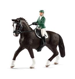 Schleich Springruiter met paard