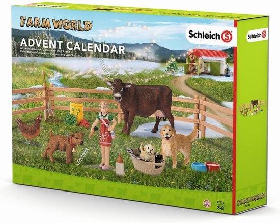 Schleich Adventskalender boerderij