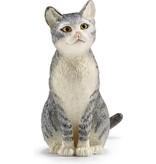 Schleich Kat zittend