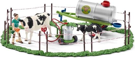 Schleich Koeienfamilie op de weide