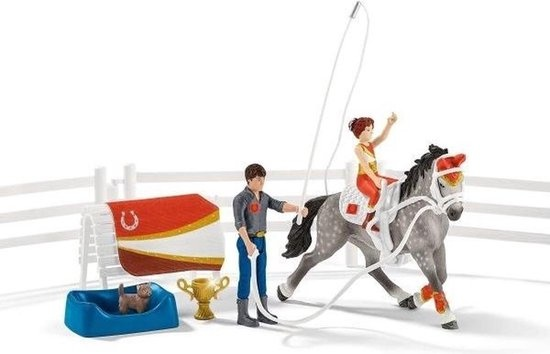 Schleich Mia's vaulting riding set