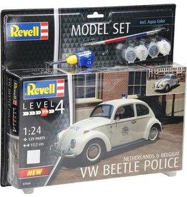 Revell Revell Model Set Volkswagen Beetle Politie