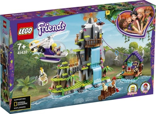 Lego LEGO Friends Alpaca berg jungle reddingsactie - 41432