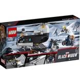 Lego LEGO Marvel Super Heroes Black Widow's helikopterachtervolging - 76162