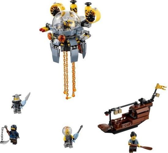 Lego LEGO NINJAGO Movie Vliegende Kwal Duikboot - 70610