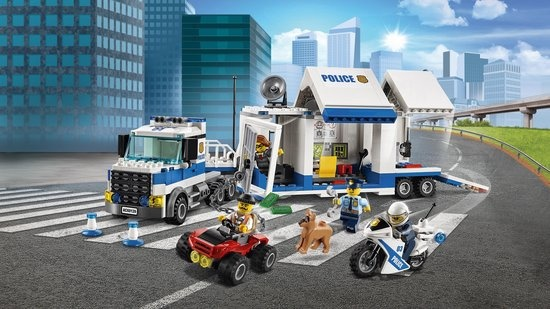 Lego LEGO City Politie Mobiele Commandocentrale - 60139
