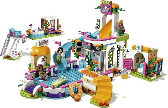 Lego LEGO Friends Heartlake Zwembad - 41313