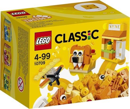 Lego LEGO Classic Oranje Creatieve Doos - 10709
