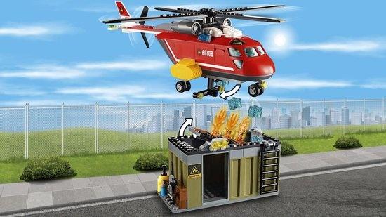 Lego LEGO City Brandweer Inzetgroep - 60108