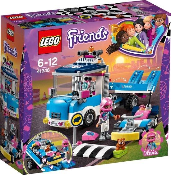 Lego LEGO Friends Kart Onderhouds- en Reparatietruck - 41348