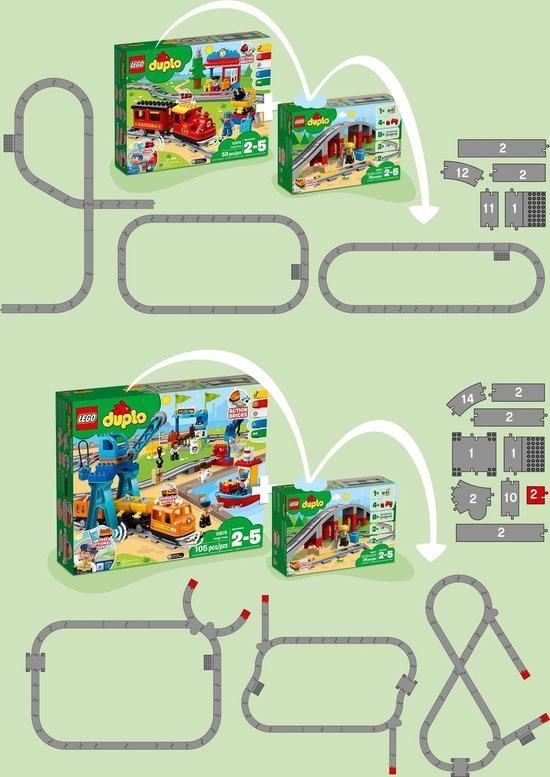 Lego LEGO DUPLO Treinbrug en Rails - 10872