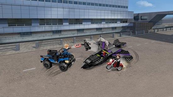 Lego LEGO Super Heroes Black Panther Pursuit - 76047