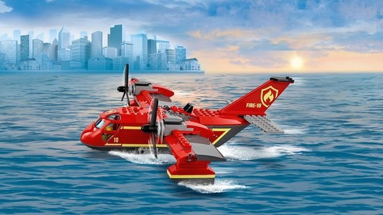 Lego LEGO City Brandweervliegtuig - 60217