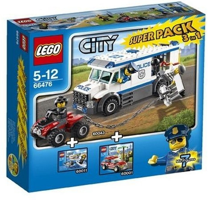 Lego Lego city politie superpack - 66476