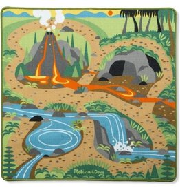 Melissa & Doug Melissa & Doug Prehistoric Playground Speelkleed 90 X 100 Cm