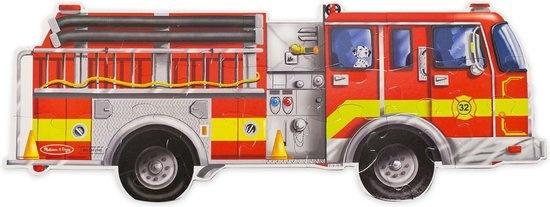 Melissa & Doug Melissa & Doug Vloerpuzzel Brandweerauto (24 stukjes, 1,20 m lang)