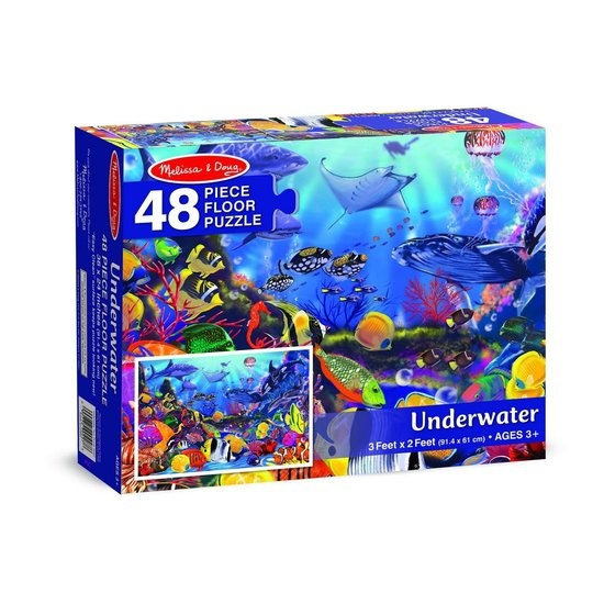 Melissa & Doug Melissa & Doug - Onderwater - Vloerpuzzel - 48 PC
