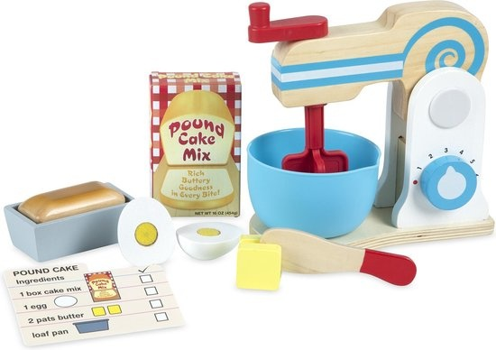 Melissa & Doug Melissa & Doug Houten Speelgoed Keukenmachine