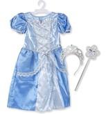 Melissa & Doug Melissa & Doug - Prinses Blauw - verkleedkleding - 3-6 jaar