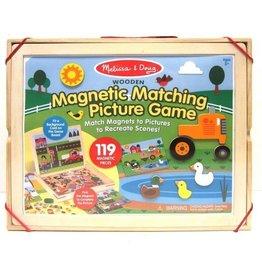 Melissa & Doug Melissa & Doug magnetisch spel met bijpassende afbeeldingen magneten