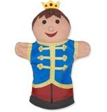 Melissa & Doug Melissa & Doug Kasteelvriendjes handpoppen (set van 4) - prins, prinses, ridder en draak
