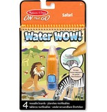 Melissa & Doug Melissa & Doug Water WOW! Herbruikbaar kleurblok met verborgen afbeeldingen - Safari