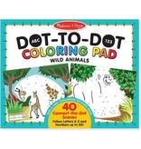 Melissa & Doug Melissa & Doug Dot-to-Dot Colouring Pad - Wild Animals