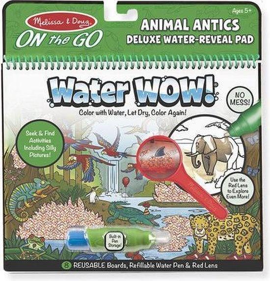 Melissa & Doug Melissa & Doug Water Wow de luxe -zoek en vind dieren