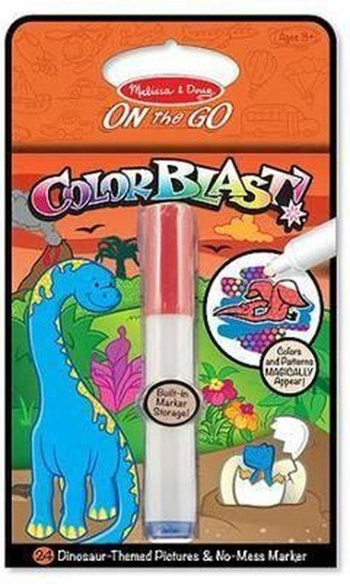 Melissa & Doug Melissa & Doug Colour Blast! kleurblok Dino