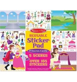Melissa & Doug Melissa & Doug Stickerboek met herbruikbare stickers Prinsessen Kasteel - 175 Stickers