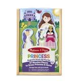 Melissa & Doug Melissa & Doug magnetische aankleedpop Prinses