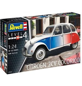 Revell Citroën 2 CV Cocorico - Revell 1:24