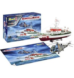 Revell SAR DGzRS Arkona and Westand Seaking Mk.41