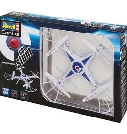 Revell Revell Quadrocopter Go! Stunt 2,4 Ghz Blauw/wit 31 Cm