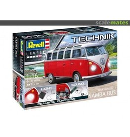 Revell Volkswagen T1 Samba Bus - 1:16 - Revell Technik 00455 - met licht en geluid
