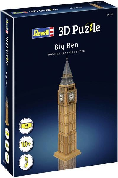 Revell Revell 3D-Puzzle Big Ben Tower 00201